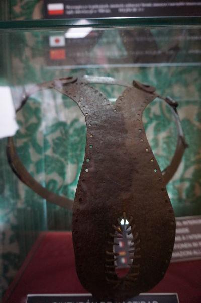 Pás cudnosti - Múzeum Inkvizície v Córdobe