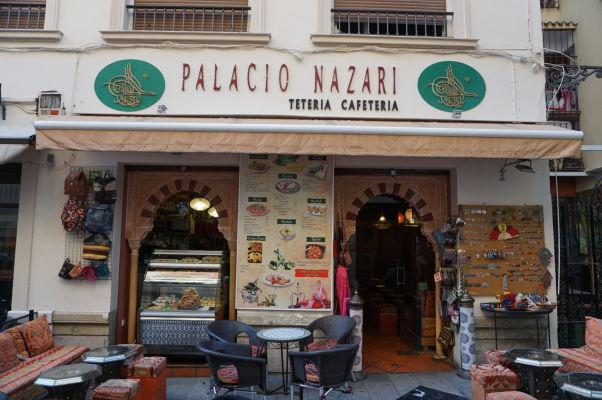 Arabská reštaurácia v Málage