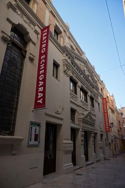 Divadlo Echegaray na ulici Calle Echegaray v Málage