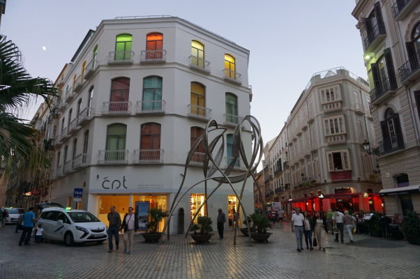 Námestie Plaza del Siglo v Málage