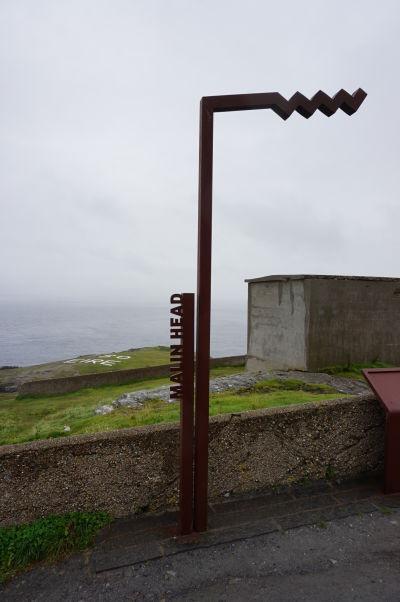 Malin Head na severe Írska