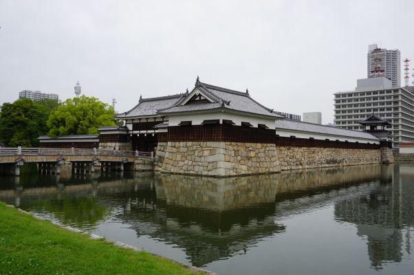 Vstupná brána k hradu v Hirošime