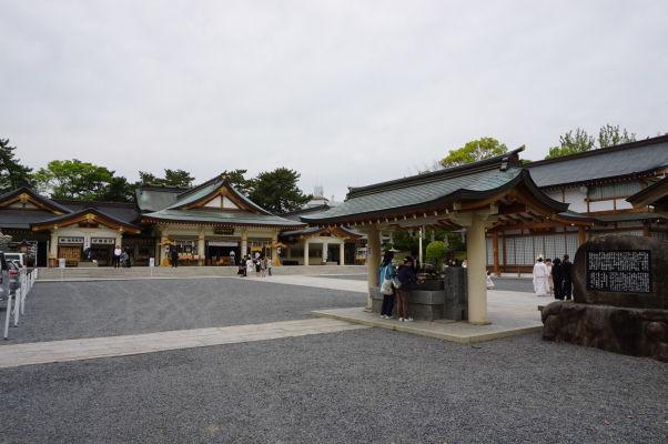 Svätyňa Gokoku pri hrade v Hirošime