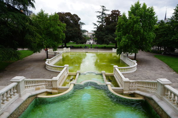 Park Jardin Darcy v Dijone