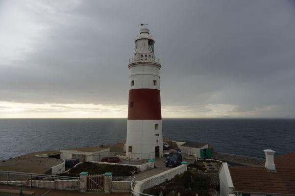 Maják na Europa Pointe na Gibraltári