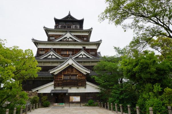 Hrad v Hirošime