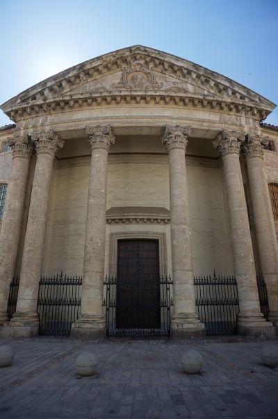 Kostol sv. Viktórie (Iglesia del Colegio de Santa Victoria) v Córdobe - Neoklasicistický chrám z 18. storočia na ulici Calle Sta. Victoria