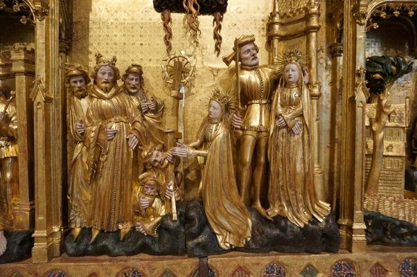 Detail reliéfu v Múzeu výtvarných umení v Dijone
