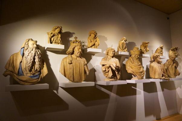 Busty v Múzeu výtvarných umení v Dijone