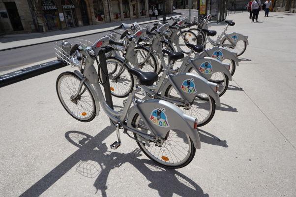 Bicykle na prenájom v Dijone