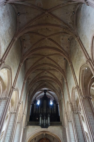 Organ a strop Chrámu Saint-Michel v Dijone