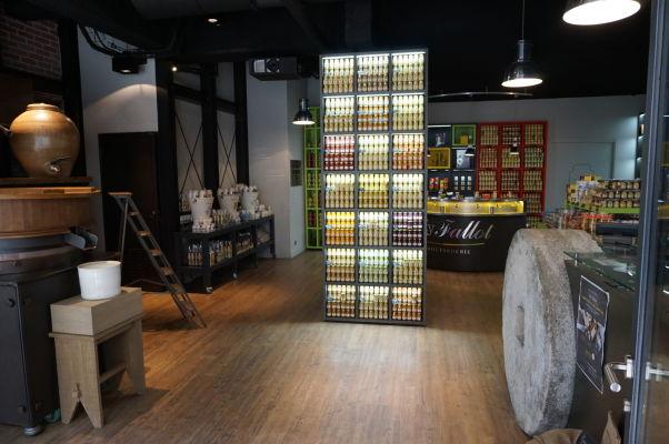 Edmond Fallot - rodinný podnik na výrobu tradičnej dijonskej horčice má obchod priamo v Dijone
