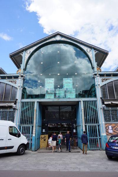 Tržnica Les Halles v Dijone