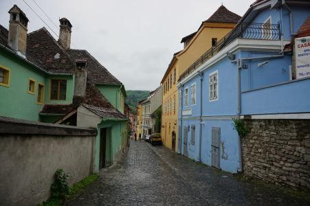 Uličky v centre Sighișoary