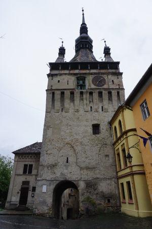 Veža s hodinami v Sighișoare