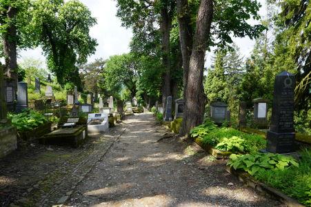 Nemecký cintorín v citadele Sighişoary