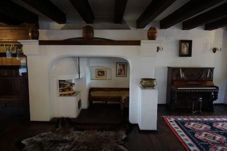 Spoločenská miestnosť hradu Bran