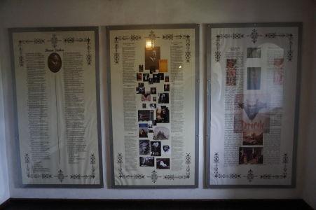 Informačné tabule o Drakulovi