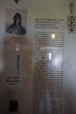 Nájdu sa tu informácie aj o Vladovi III., pravom Drakulovi