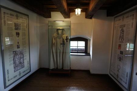 Expozícia na hrade Bran venovaná Drakulovi
