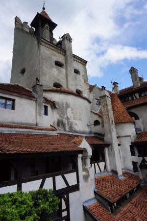 Exteriér hradu Bran
