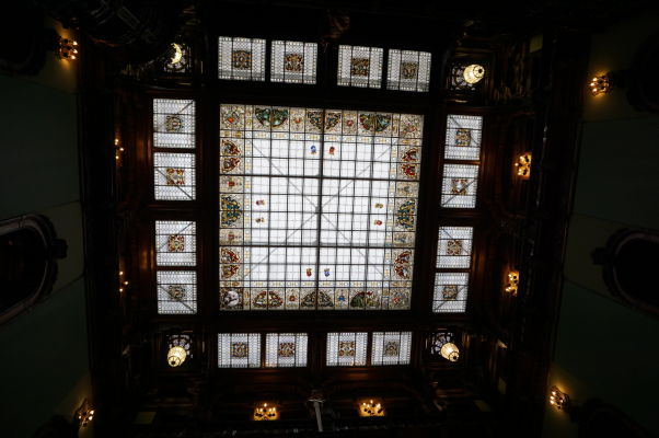 Strešné okno vo Veľkej hale