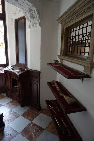 Zbierka strelných zbraní na zámku Peleš