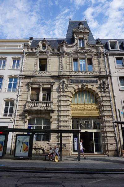 Budova banky na ulici Rue Saint-Georges v Nancy