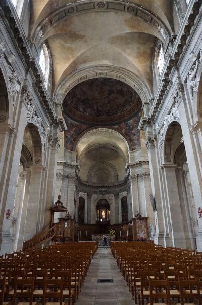 Hlavná loď katedrály v Nancy