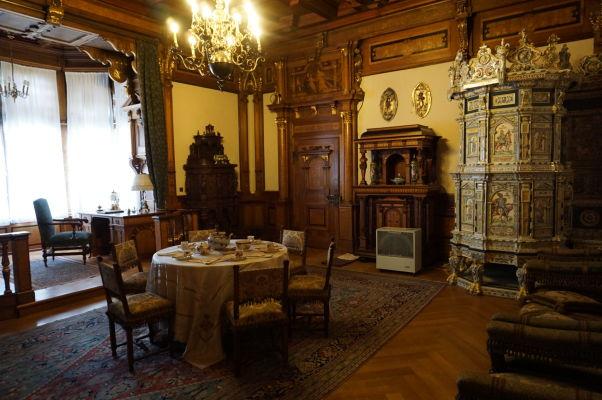 Kráľovská obytná miestnosť na zámku Peleš