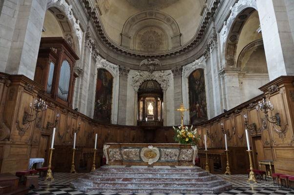 Hlavný oltár katedrály v Nancy