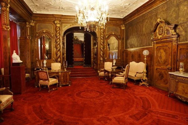 Imperiálny apartmánt - Najhonosnejšia spálňa na zámku Peleš