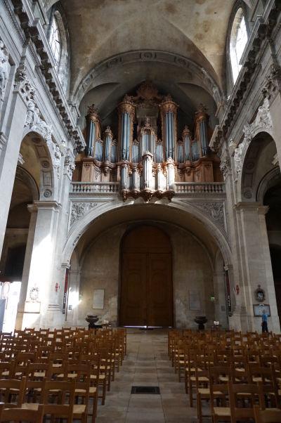 Veľký organ je pýchou katedrály v Nancy