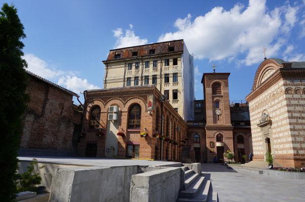 Pohľad na areál Starého knižacieho dvora v Bukurešti