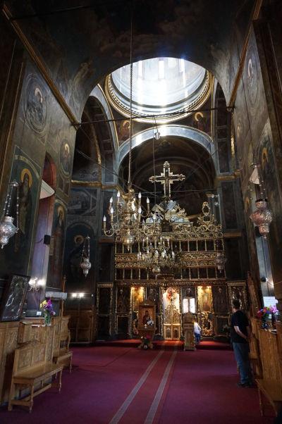 Kostol Starého knižacieho dvora v Bukurešti