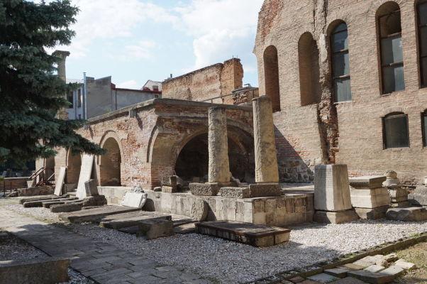 Ruiny Starého knižacieho dvora v Bukurešti