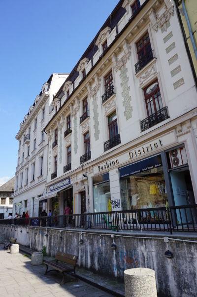 Uličky starého mesta Bukurešte