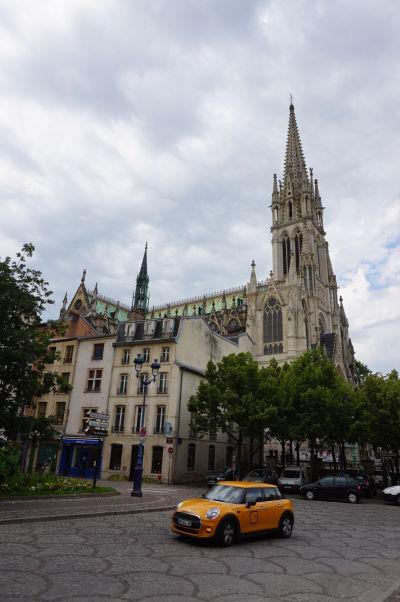 Bazilika sv. Epvra (Basilique Saint-Epvre) - neogotický chrám v centre Starého mesta Nancy
