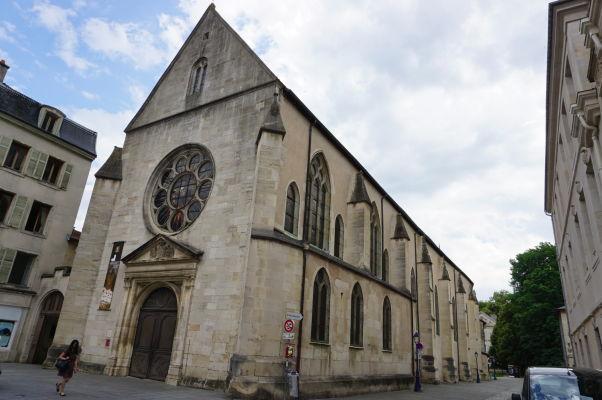 Františkánsky Kostol sv. Františka (Église des Cordeliers) v Nancy