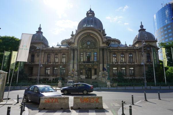 Budova banky CEC v Bukurešti