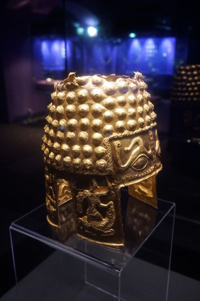 Národné múzeum histórie v Bukurešti disponuje obrovskou zbierkou artefaktov zo zlata a drahých kovov zo všetkých období