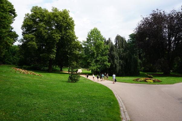 Mestský park (Parc de la Pépinière) v Nancy
