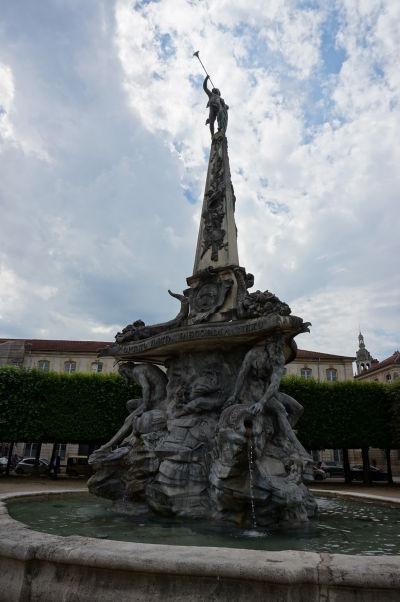 Pamätník spojenectva (Mémorial d'Alliance) na námestí Place d'Alliance v Nancy