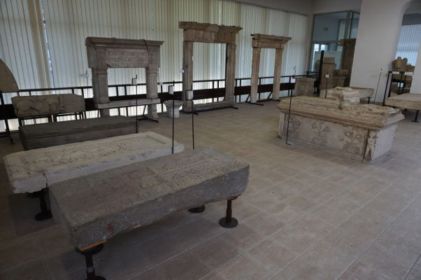 Artefakty z obdobia Rímskej ríše v Národnom múzeu histórie v Bukurešti