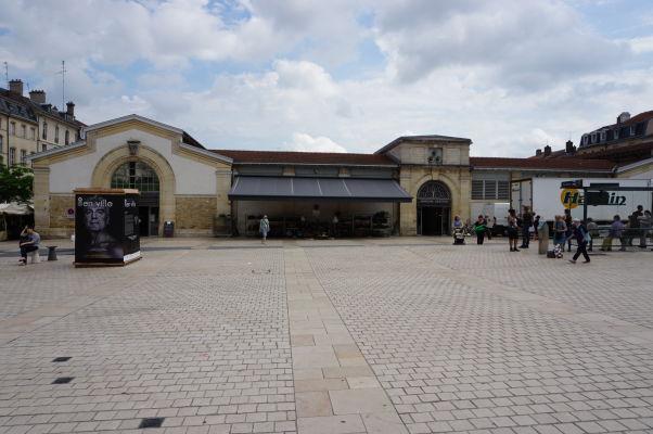 Mestská tržnica na Námestí Karla III. (Place Charles III) v Nancy