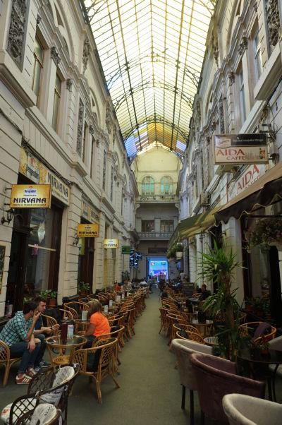 Pasáž Vilacrosse v Bukurešti