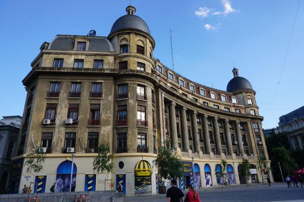 Budova bývalého kasína v Bukurešti