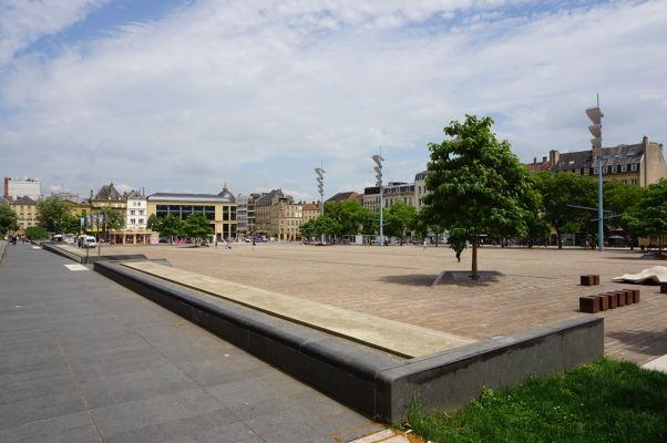 Námestie republiky v Metz