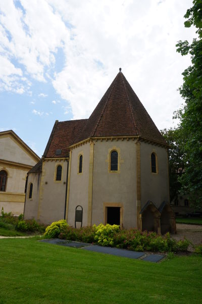 Kaplnka Templárov v Metz z 12. storočia