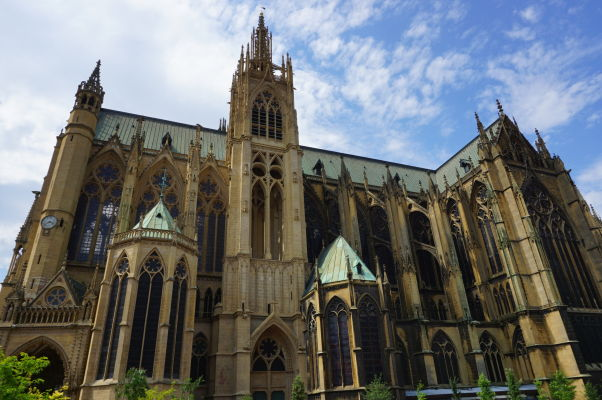 Katedrála sv. Štefana v Metz (Cathédrale Saint Étienne de Metz)